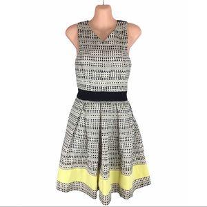 HAYDEN Fit & Flare Open Back Dress